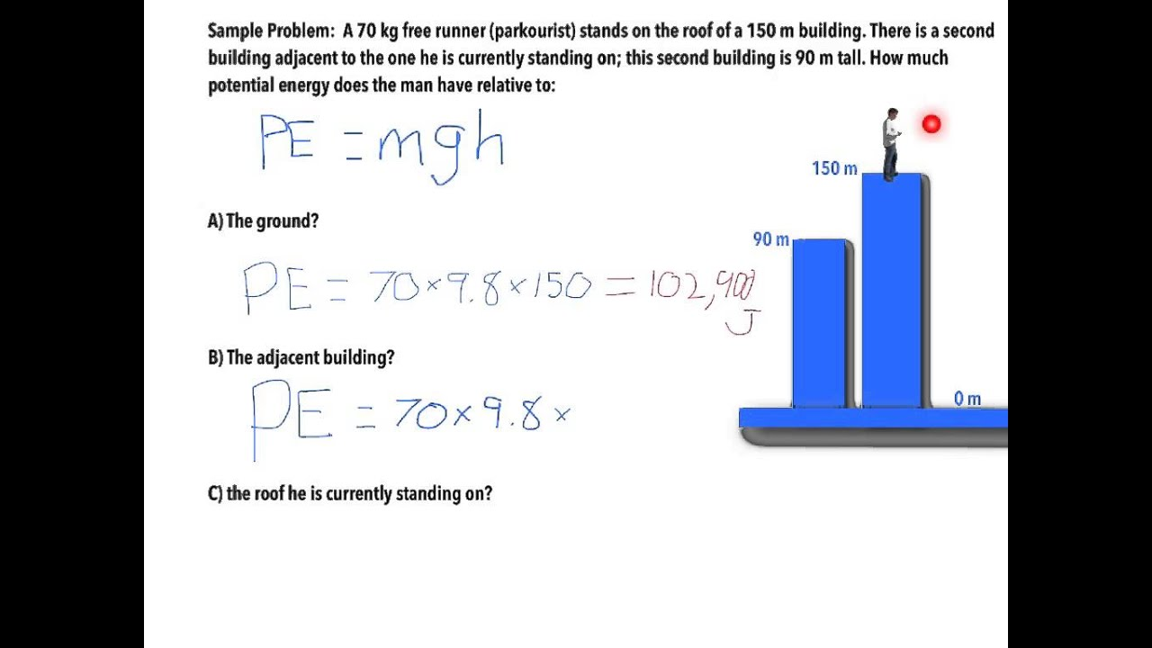 physics lesson work power energy potential energy sample physics lesson work power energy potential energy sample problem