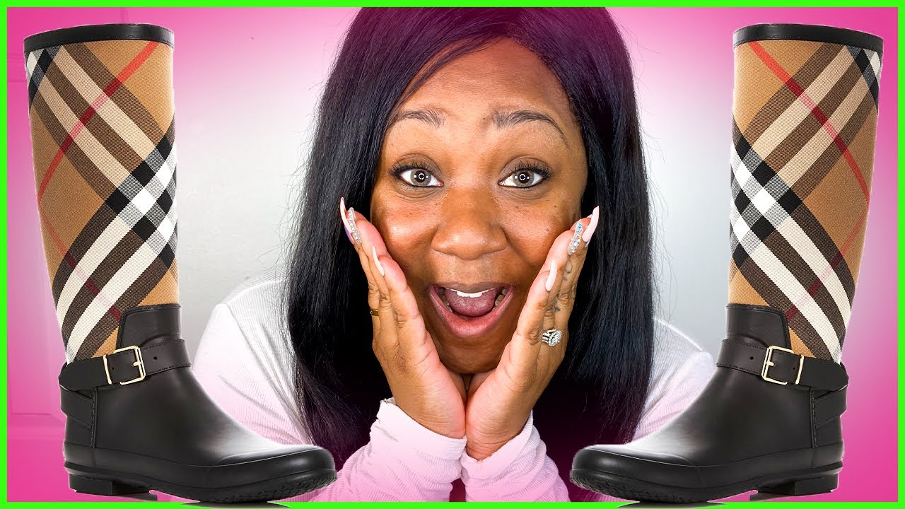 Burberry Simeon Rain Boots Review & Unboxing | Are they worth it!?