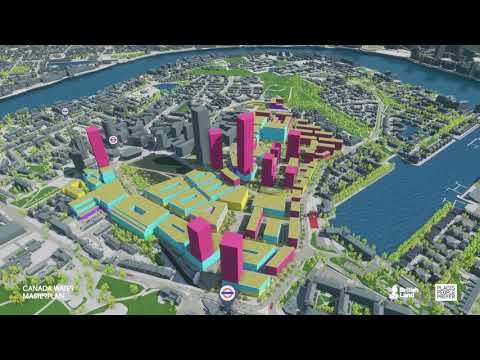 Canada Water Masterplan Interactive Model, May 2017