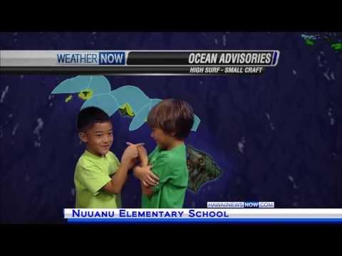 Nuuanu Elementary School - station visit