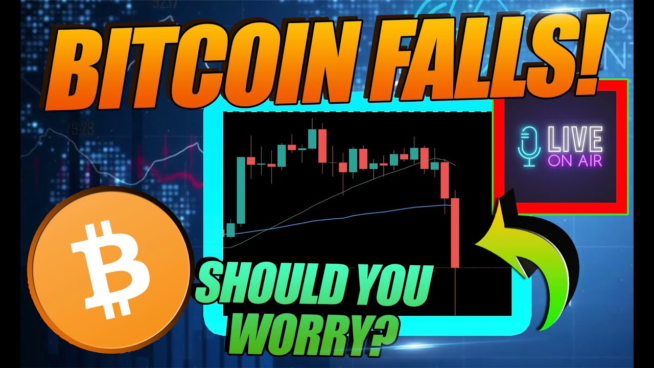 BITCOIN PRICE FALLS BUT WHAT DOES IT REALLY MEAN FOR BTC YouTube