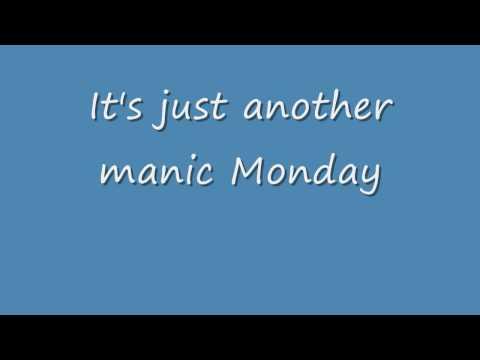 The Bangles - Manic Monday (HD LYRICS)