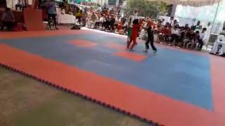 Student of Ultimate martial arts center Walton Branch lahore .girl jannat Aslam good fight