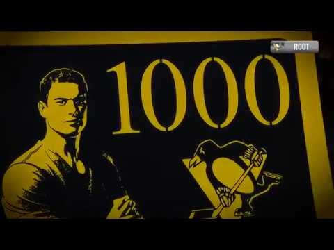 Sidney Crosby's memorable milestone night