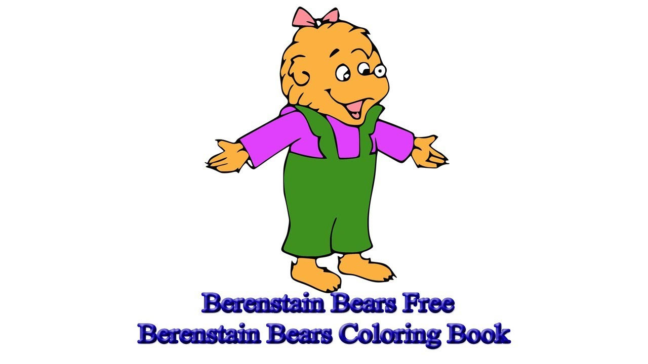 - Berenstain Bears Free Berenstain Bears Coloring Book - YouTube