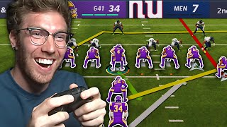 20 minutes \u0026 19 seconds of TOXIC Madden (Goalline only)...