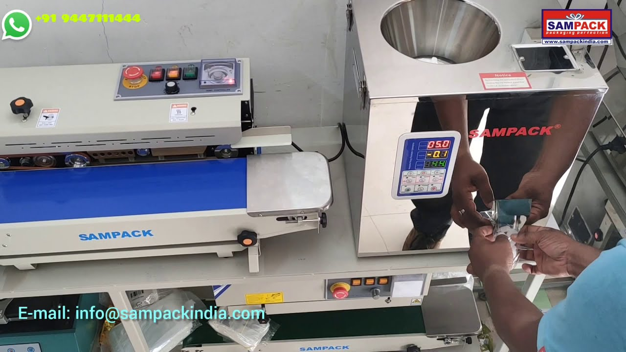 Download Mini Packing machine   Small packing machine  Camphor Packing Machine Coimbatore 2gm to 100gm