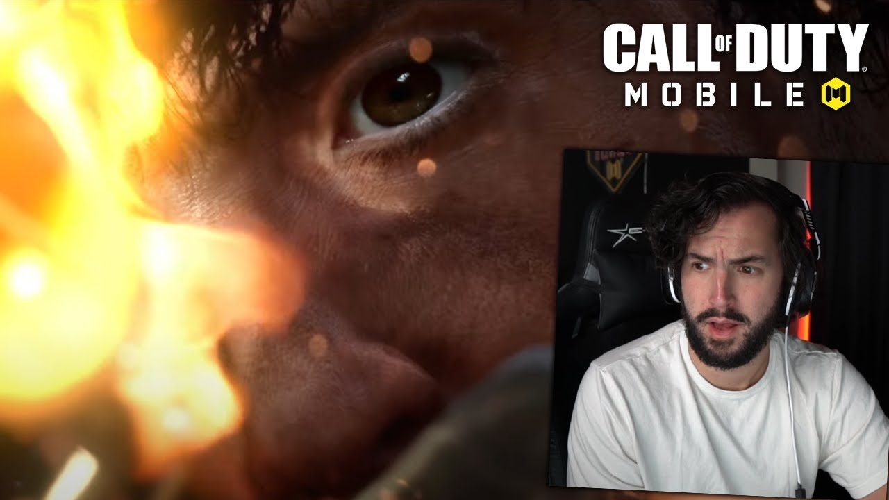 RAMBO IN COD MOBILE (definitely not the second upload)
