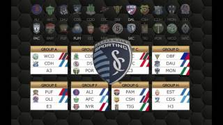 #SCCL Group C Set: @CentralFCTT | @whitecapsfc | @SportingKC