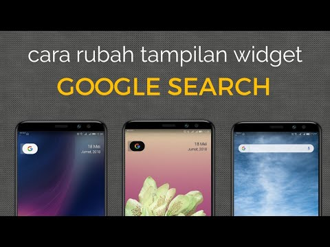 The way to display the Google Search (widget) on the main screen of the Android phone is very easy a.