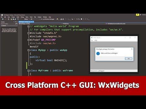 Cross Platform GUI With C++ And WxWidgets