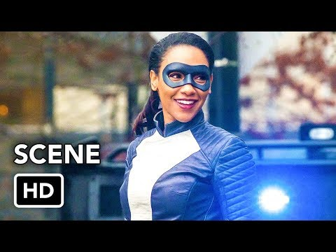 "The Flash 4x16 ""Speedster Iris vs Metahuman"" Scene"