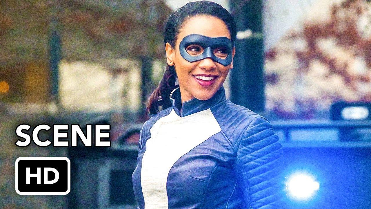 """Download The Flash 4x16 """"Speedster Iris vs Metahuman"""" Scene (HD)"""