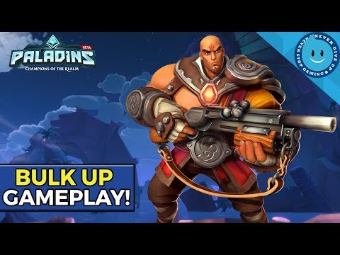 Bulk Up Buck Gameplay! | The Best New Legendary In Esports! (Paladins)