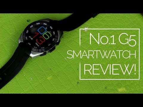 No.1 G5 Smartwatch Review: $30, cheap and good!