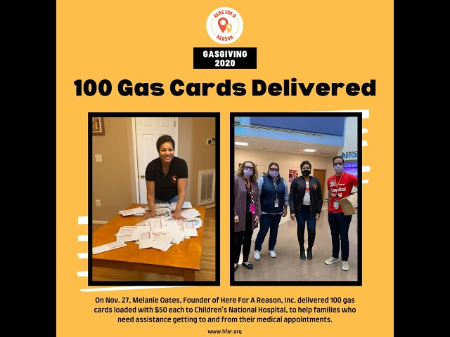 100 Families are getting a $50 gas card