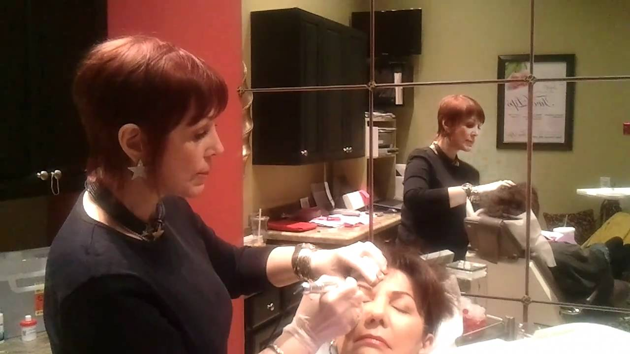 Scottsdale Permanent Makeup Expert Sally Hayes Eyebrow Demo Youtube