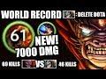 NEW WORLD RECORD WTF 7000 Dmg COMBO 69Kills EPIC Lion 7.20 Most IMBA Meta Crazy Fun Dota 2 Gameplay