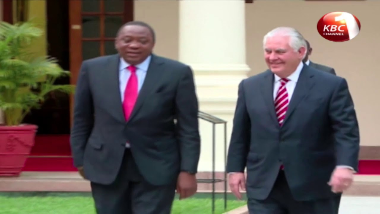 Tillerson cancels a day of events in Nairobi due to illness