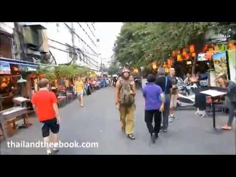 Bangkok Khao Sarn Road: A walk on Soi Ram Buttri and Suzie Street