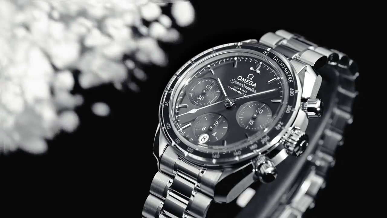 Omega SPEEDMASTER 38 CO-AXIAL CHRONOGRAPH 38 MM Steel on ...