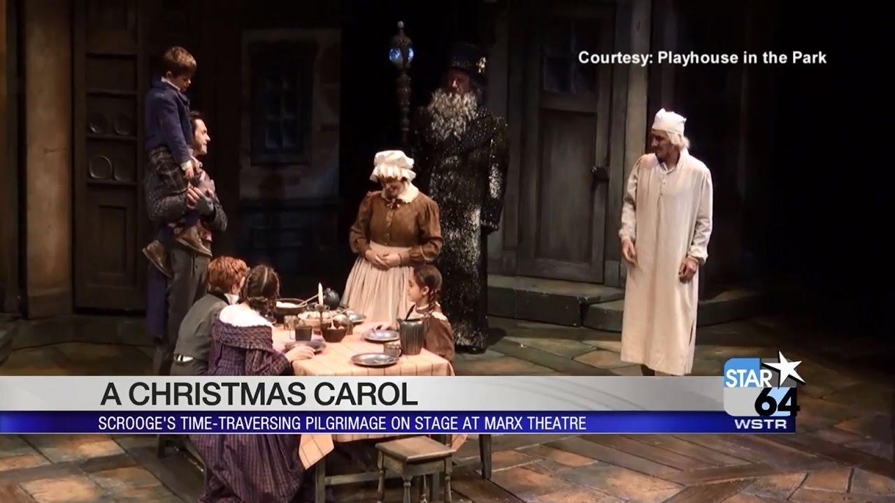 A Christmas Carol Opens At Cincinnati Playhouse In The Park Youtube