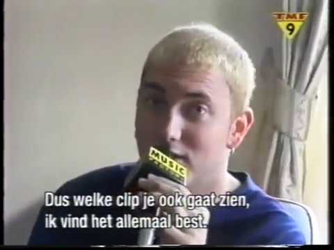 Eminem  on TMF Dutch television, Amsterdam 1999