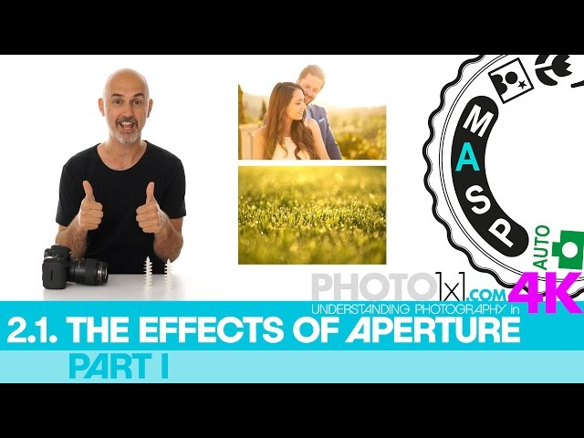 2.1. APERTURE and its EFFECTS Part I - see for youself how the aperture affects your photography