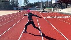 Juoksijan liikkuvuusharjoitus
