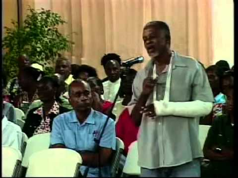 Grenada Economic  Plan - Hon. Tillman Thomas (Town Hall Meeting - Trade Centre 8th Sept. 2011) PT .2