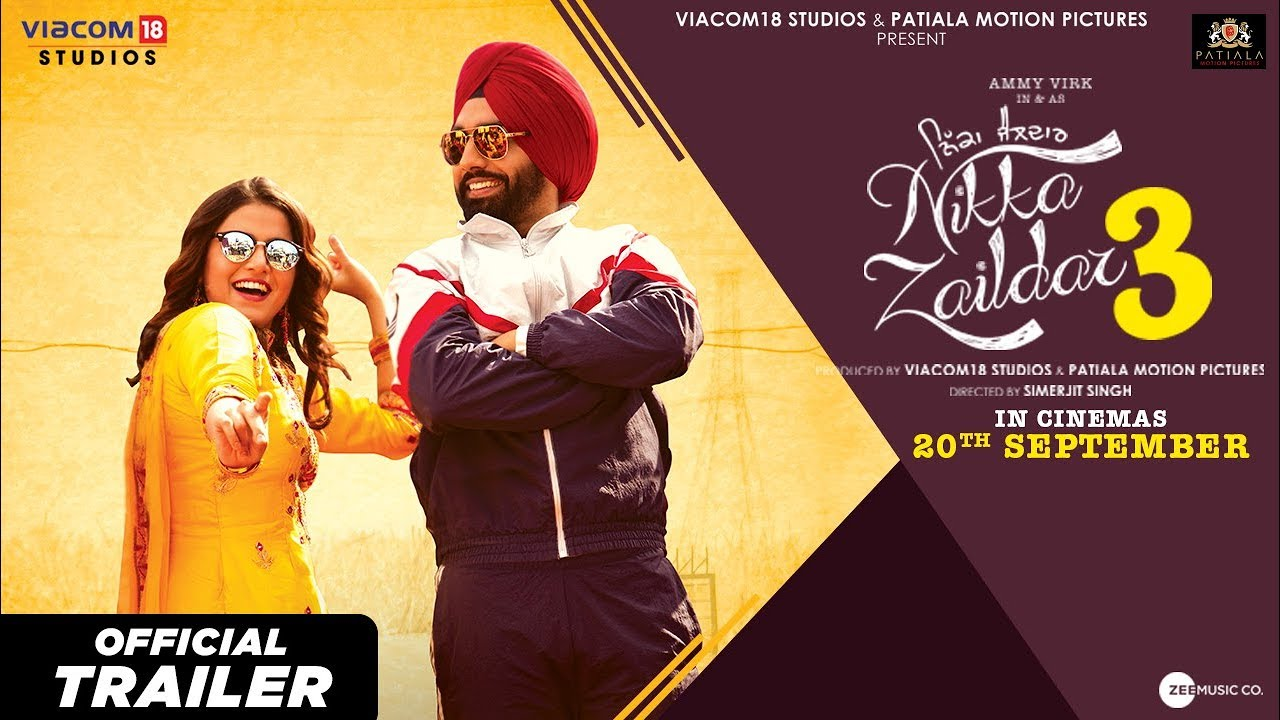 Download Nikka Zaildar 3 l Official Trailer l 20th September l Ammy Virk l Wamiqa Gabbi l Simerjit Singh