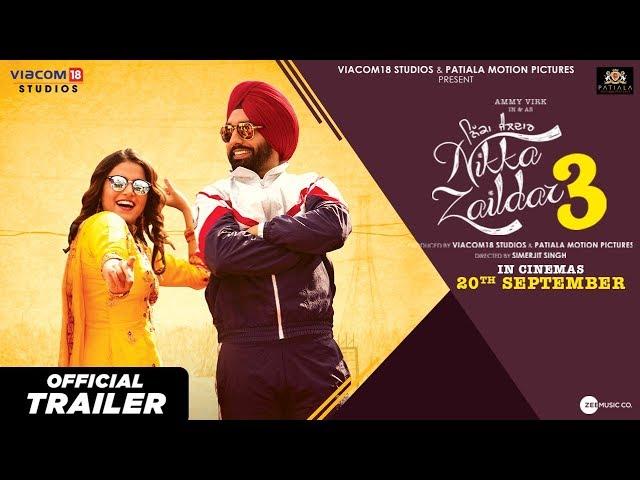 Nikka Zaildar 3 l Official Trailer l 20th September l Ammy Virk l Wamiqa Gabbi l Simerjit Singh