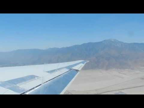 American Airlines MD-83 [N9616G] Taxi & Takeoff from Palm Springs-Chicago