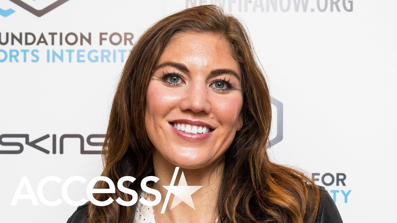 Hope Solo and husband Jerramy Stevens are new parents to twins