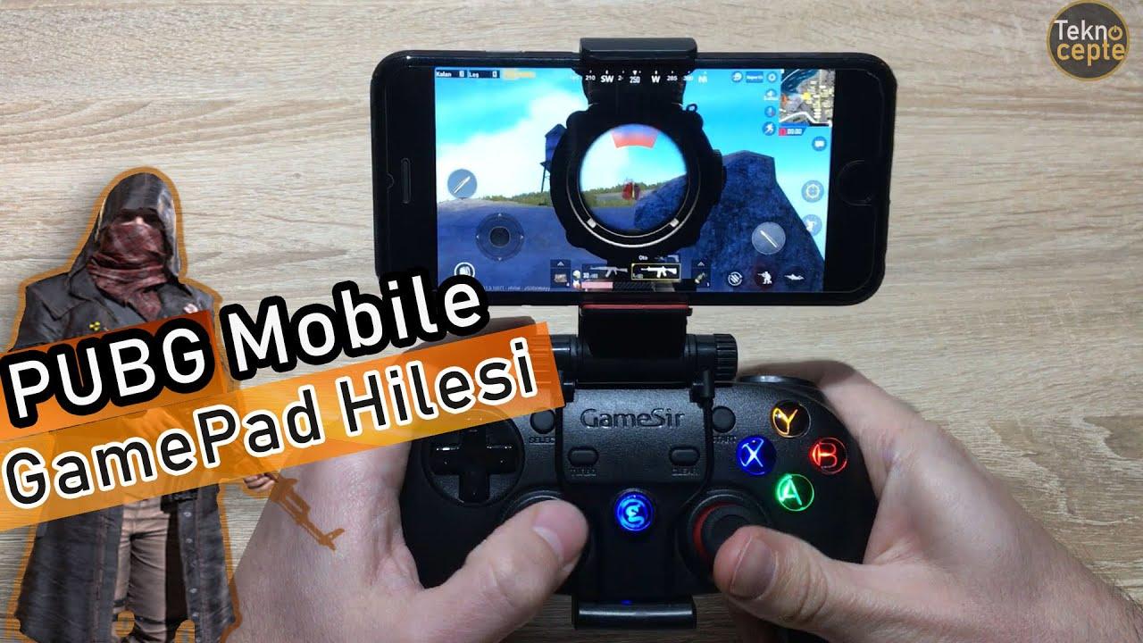 Pubg Mobile Gamepad Ile Oynama Hilesi Youtube