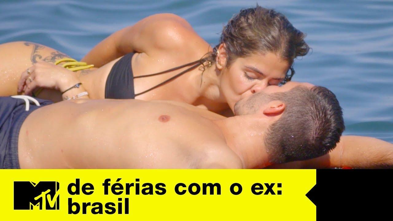 Matheus e Gabi se pegam em date   De Férias Com O Ex Brasil Ep. 10