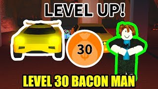 BACON HAIR gets LEVEL 30 TORPEDO | Roblox Jailbreak WINTER UPDATE