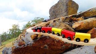 Rocky Railway Toy Train Set Movie - Toy Train Track 34