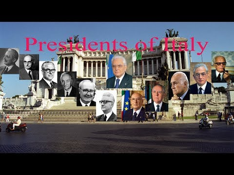 Presidents of Italy