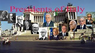 Presidents of Italy
