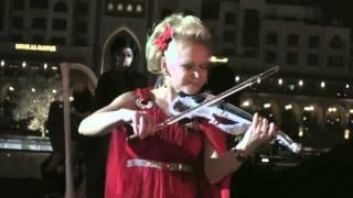 Elena Violinist Armani Hotel Burj Khalifa Dubai