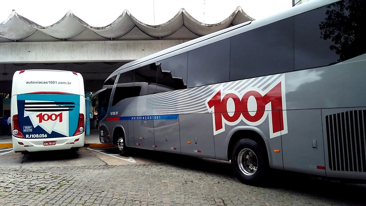 Auto Viação 1001 suspende operações interestaduais e restringe em 50% as linhas do urbano
