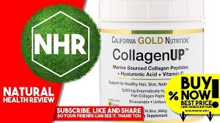 California Gold Nutrition, Collagen UP, Marine Sourced Collagen Peptides + Hyaluronic Acid +