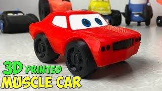 Muscle Car Toy - 3d Print