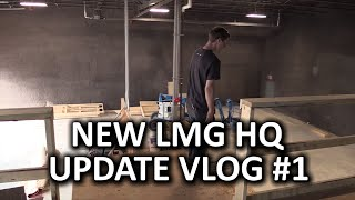 New LMG Headquarters Tour! - First Look & Construction Issues...