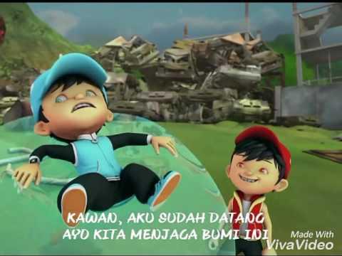 Lyrics Lagu Kotak-Jagalah Bumi Boboiboy OST Versi Ke 2