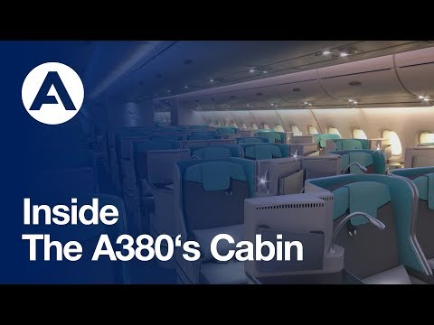Thumbnail: Inside the A380's cabin