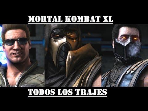 Mortal Kombat XL - Todos los trajes (Esp-Lat.)