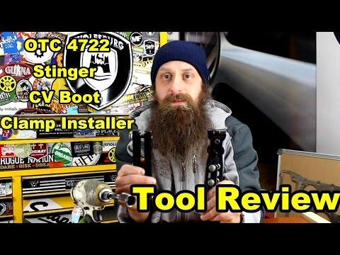 OTC 4722 CV Boot Clamp Installer Review - YouTube