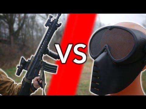 MASKA SIATKOWA VS ASG | ASG Maniak #85 Seria ASG Versus